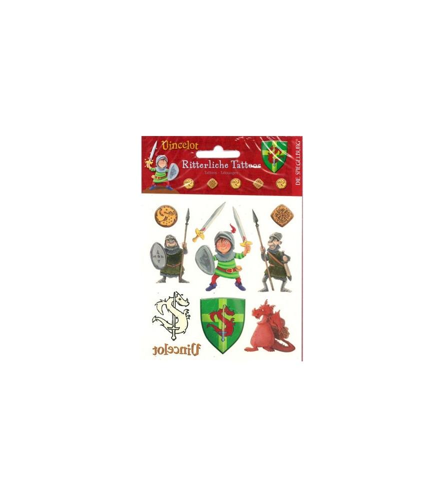 Tatouage-tatoo chevalier Vincelot