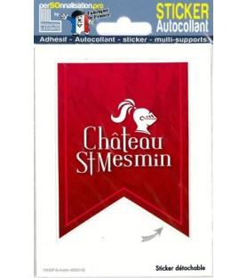 Sticker du château de Saint Mesmin