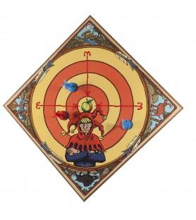 Arbalète WIKI, cible et flèches