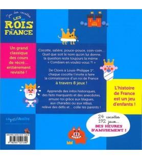 Jeu des cocottes, les rois de France