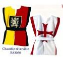 Tunique réversible Chevalier / Templier