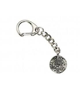 Porte clé pièce de monnaie