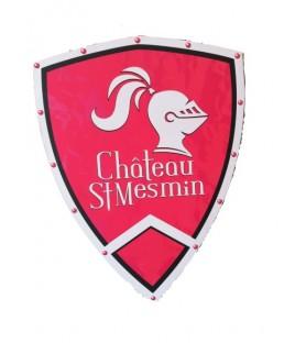 Bouclier médiéval Château Saint Mesmin