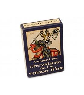 """Jeu de cartes """"Chevaliers de la toison d'or"""""""