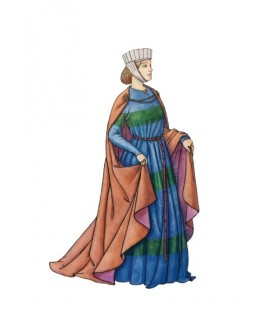 Carte postale Cotte XIIIème siècle