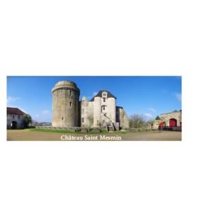 Magnet château plexi panoramique
