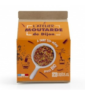 Atelier moutarde de Dijon