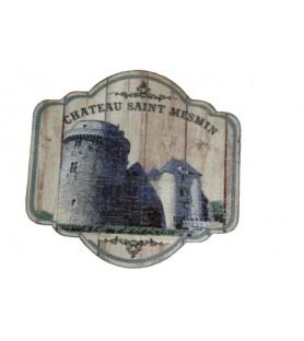 Magnet bois château