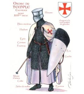 Chevalier, ordre du Temple, début XIIIe