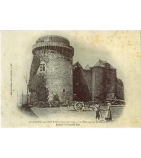 Carte postale Jules Robuchon Château Saint Mesmin