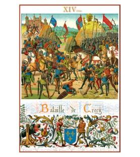Carte postale Bataille de...