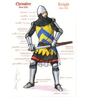 Chevalier, début XIVe