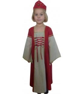 "Robe médiévale de princesse ""Marion"""