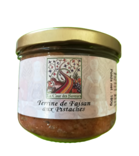 Terrine de faisan aux pistaches