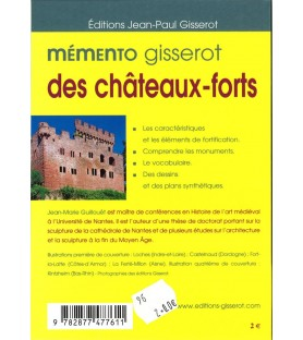 Mémento des châteaux-forts...