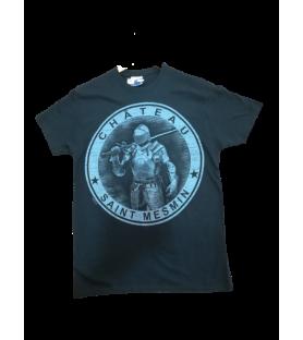 T-shirt noir enfant Chevalier