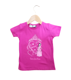 T-shirt enfant princesse corazon