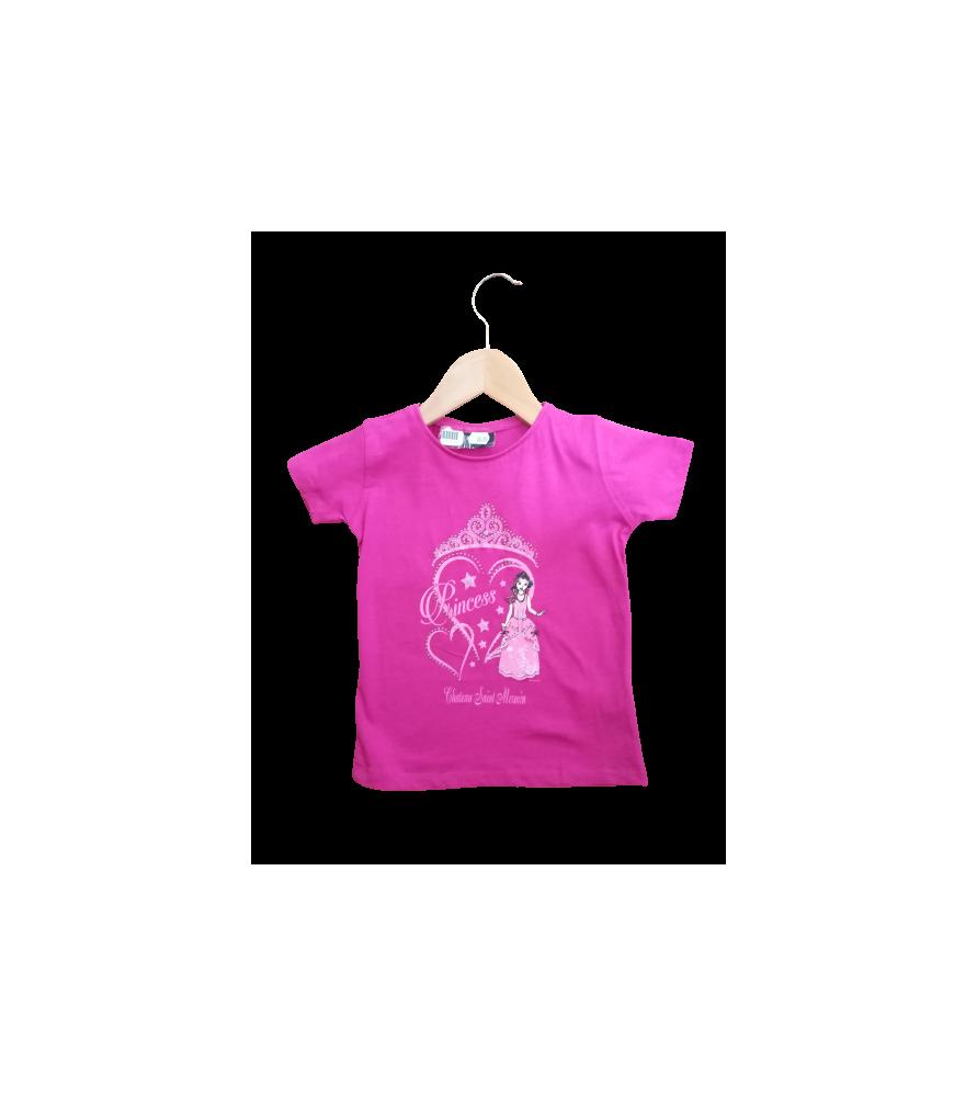 T-shirt enfant princesse corazon