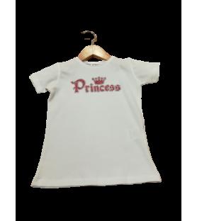 "T-shirt ""Princess"" couronne"