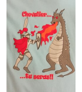 T-Shirt Chevalier tu seras