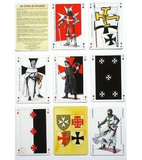 Carte à jouer ordres de chevalerie