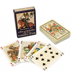 Cartes à jouer Chevaliers de la toison d'or