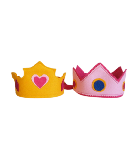 Couronne rose de princesse