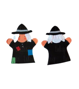 """Marionnette à main """"Sorcière"""""""