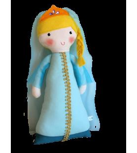 Poupée médiévale Princesse turquoise