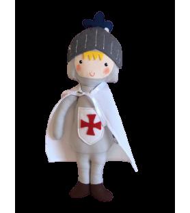 Poupée médiévale Chevalier