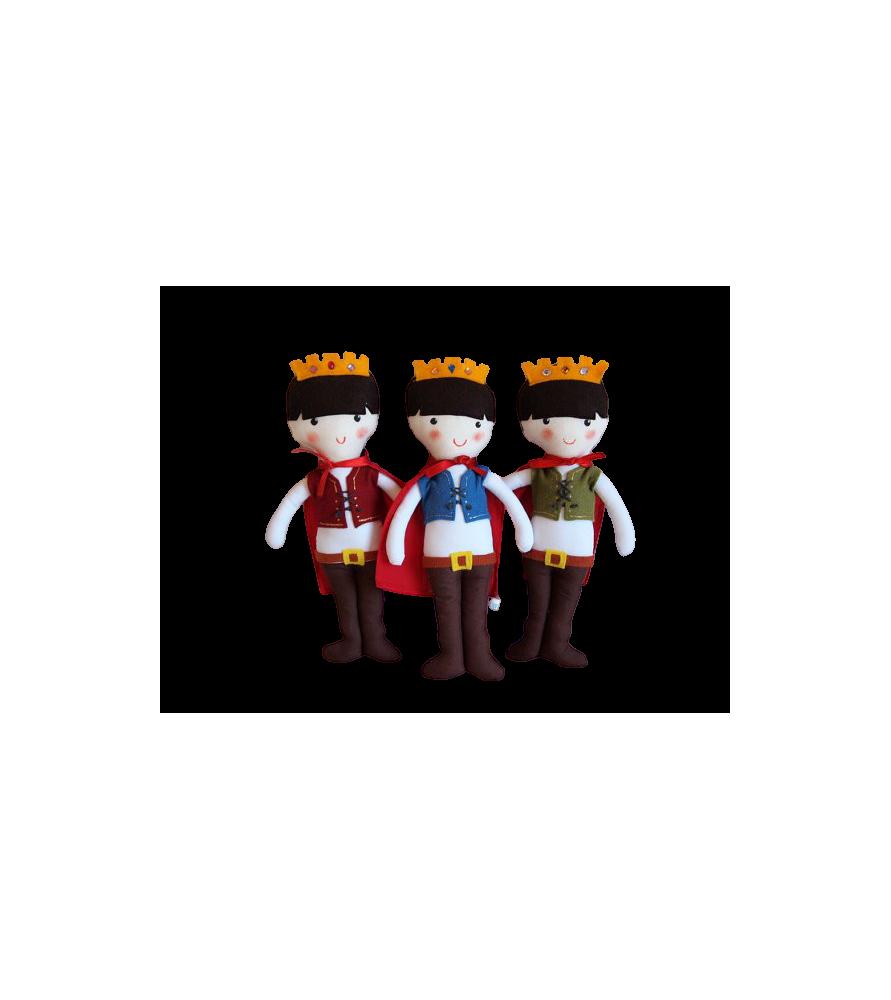 Poupée médiévale Prince