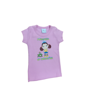 T-Shirt rose Princesse en formation