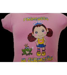 T-Shirt Princesse en formation