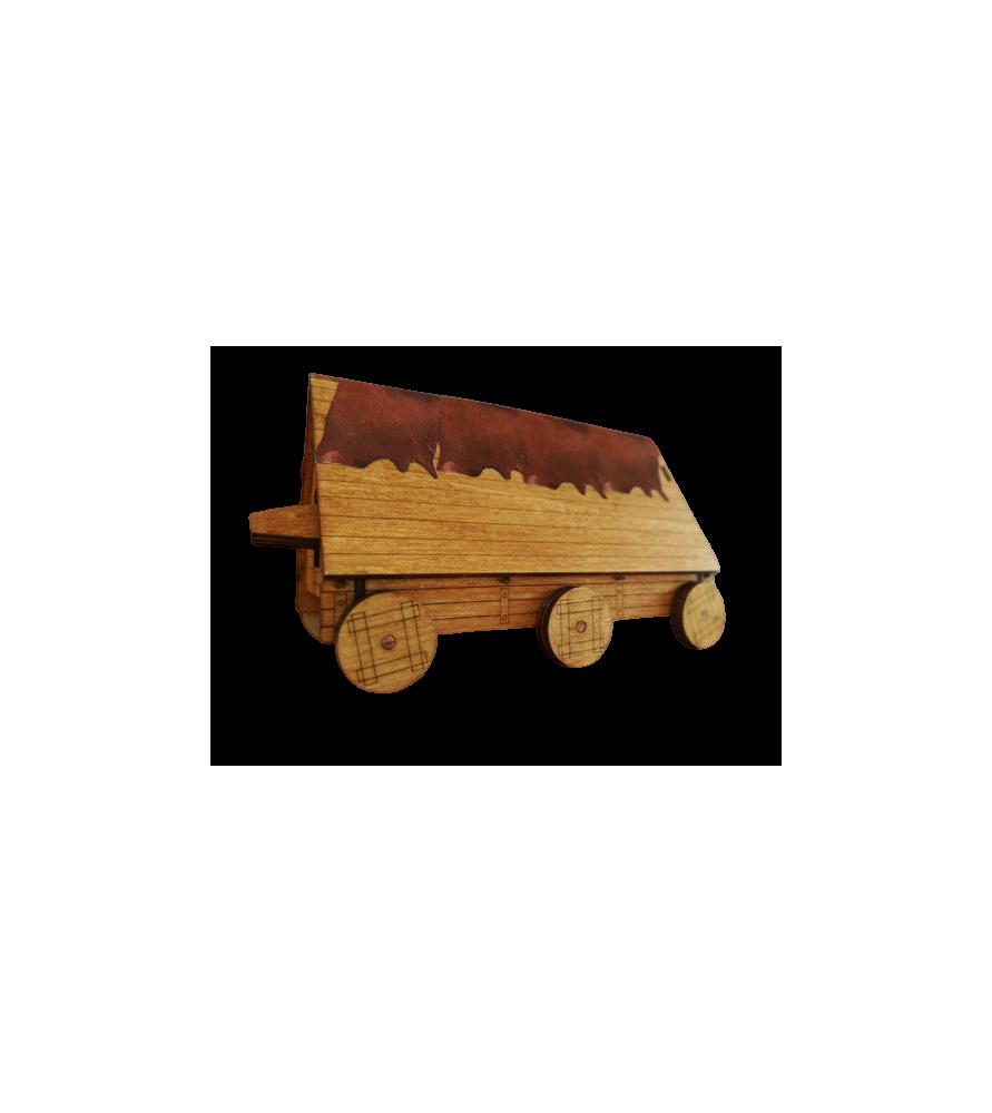 Maquette Bélier à roue