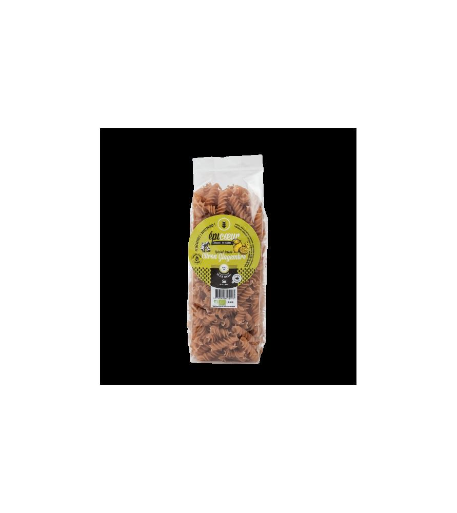 Pâtes Bio citron gingembre