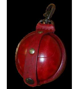Aumonière médiévale, petit format S rouge