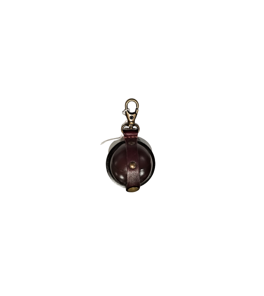 Aumonière médiévale, petit format S marron foncé