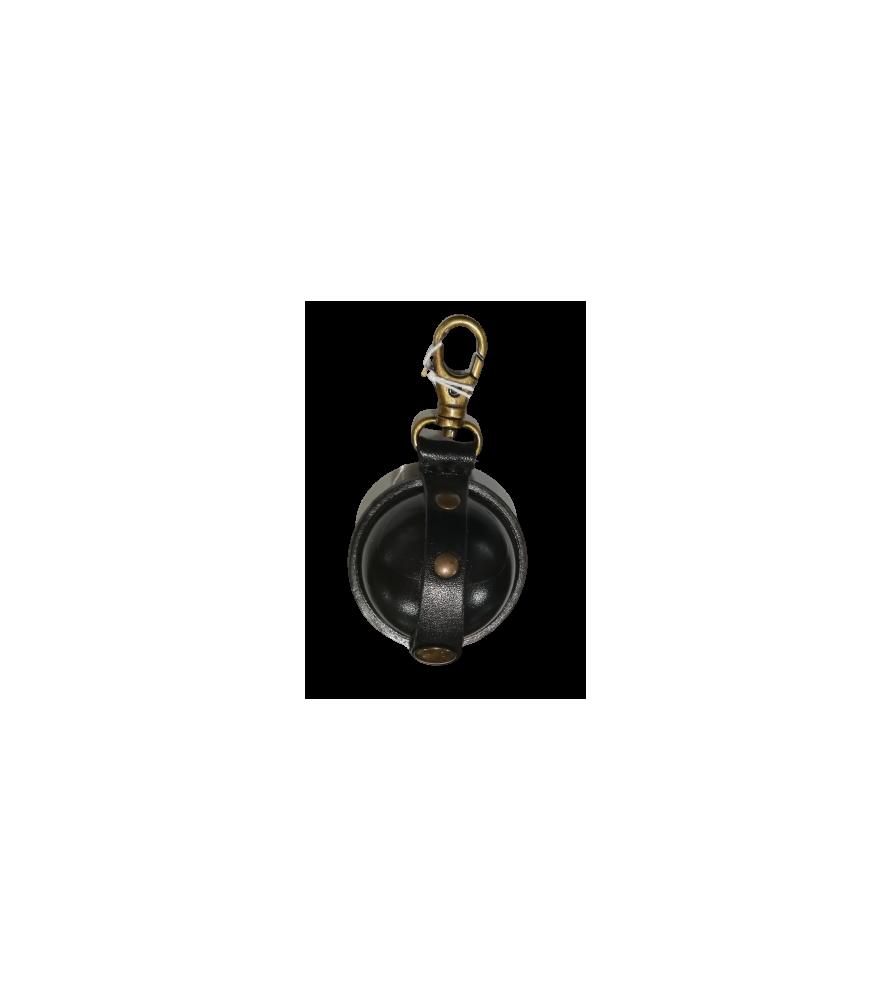 Aumonière médiévale, petit format S noire