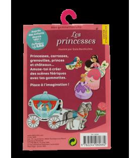 Ma boite à gommettes princesses