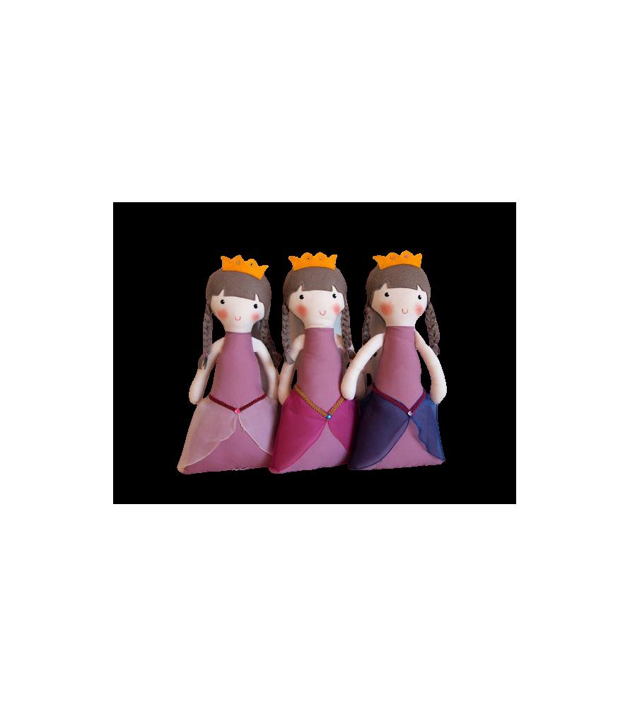 Poupée médiévale Princesse rose