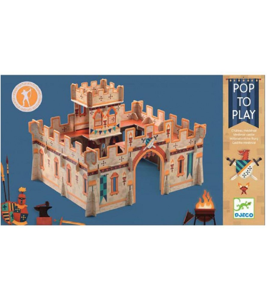 Château médiéval Pop to play