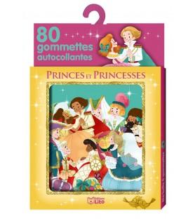 Ma boite à gommettes, princes et princesses