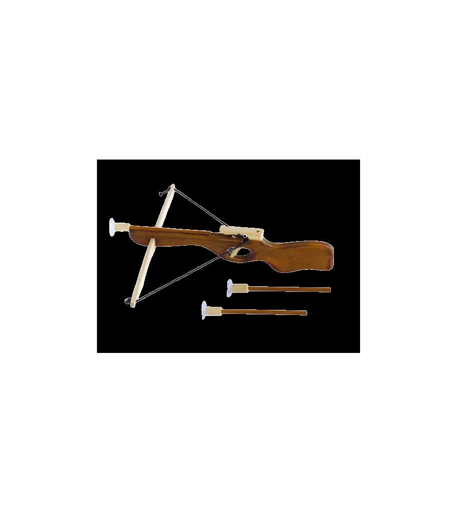 Arbalète en bois 40*40cm