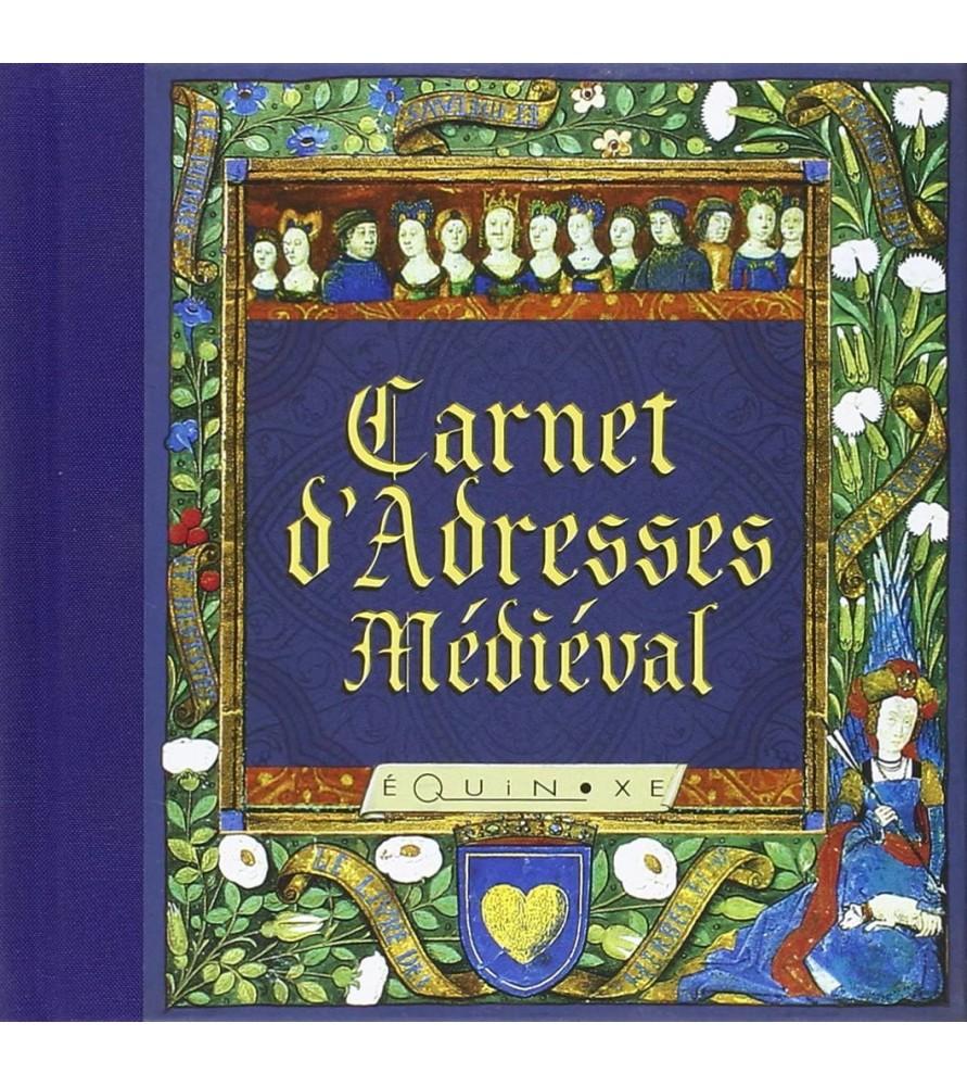 Carnet d'adresses médiéval