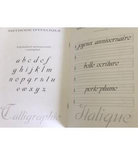 Livret méthode apprentissage de l'italique
