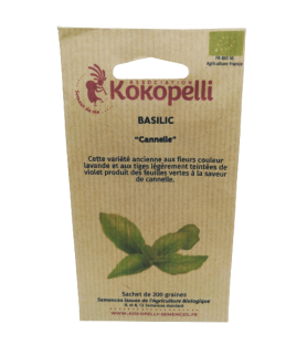 Graines Basilic cannelle