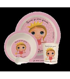 Coffret vaisselle de princesse