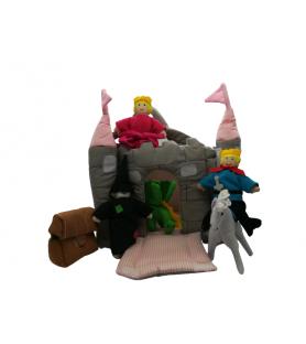 Château rose à histoires