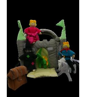 Château vert à histoires