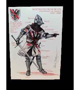 Carte postale Bertrand Du Guesclin